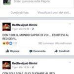 Suonare per cento euro al Red Devil di Rimini!