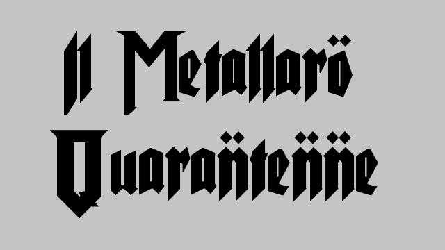 metallaro quarantenne